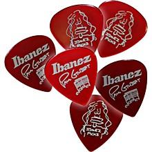 Ibanez Paul Gilbert Red Signature Picks 6-Pack
