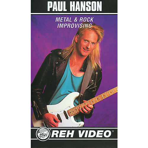 Alfred Paul Hanson Metal and Rock Improvisation (Video)