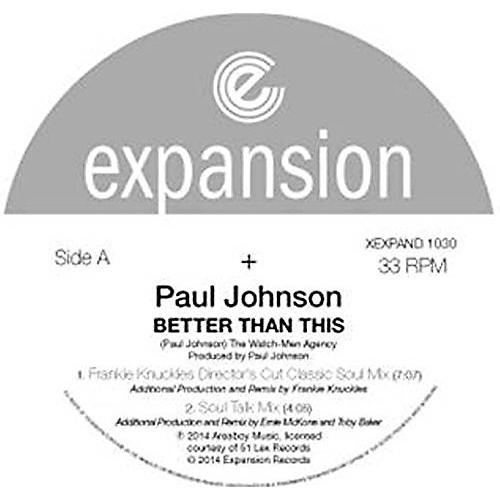 Alliance Paul Johnson - Better Than This