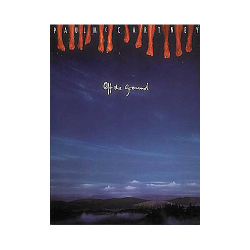 Hal Leonard Paul McCartney - Off The Ground Piano, Vocal, Guitar Songbook