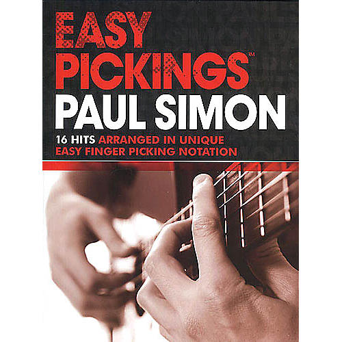 Music Sales Paul Simon - Easy Pickings Music Sales America Series Softcover Performed by Paul Simon