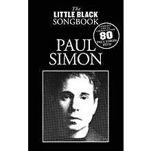 Music Sales Paul Simon - The Little Black Songbook The Little Black Songbook Series Softcover Performed by Paul Simon