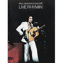 Music Sales Paul Simon in Concert - Live Rhymin' Music Sales America Series Softcover Performed by Paul Simon