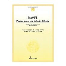 Schott Pavane pour une infante defunte (Pavane for a Dead Princess Horn and Piano) Brass Solo Series