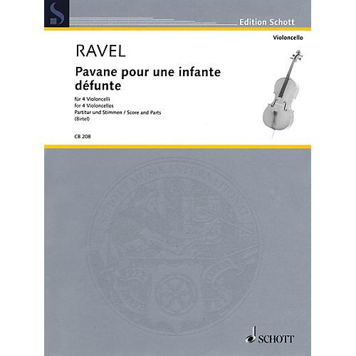 Schott Pavane pour une infante défunte (for 4 Cellos Score and Parts) String Series Softcover