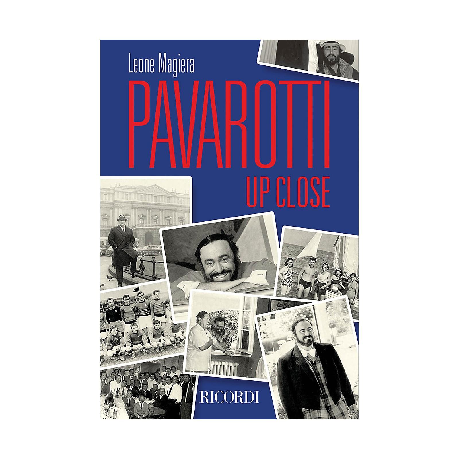 Ricordi Pavarotti Up Close Misc Series Softcover