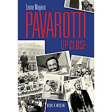 Ricordi Pavarotti Up Close Misc Series Softcover