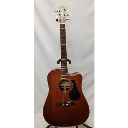 Alvarez Pd85sc Av Acoustic Electric Guitar Antique Natural