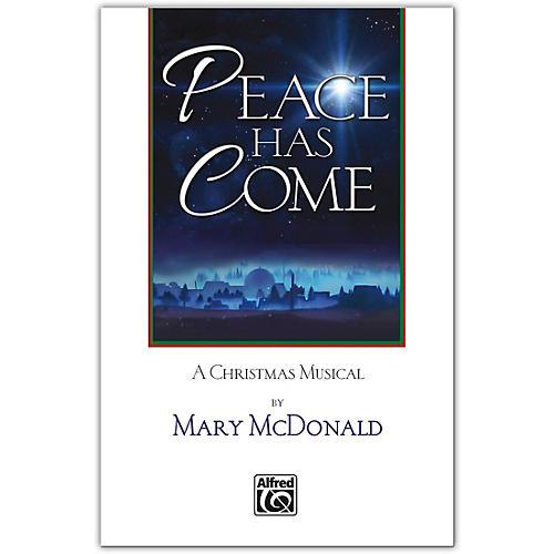 JUBILATE Peace Has Come SATB Choral Book