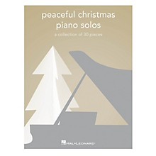 Hal Leonard Peaceful Christmas Piano Solos (A Collection of 30 Pieces) Piano Solo Songbook