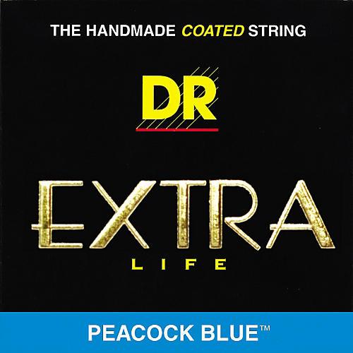 DR Strings Peacock Blues Medium 5-String Bass Strings