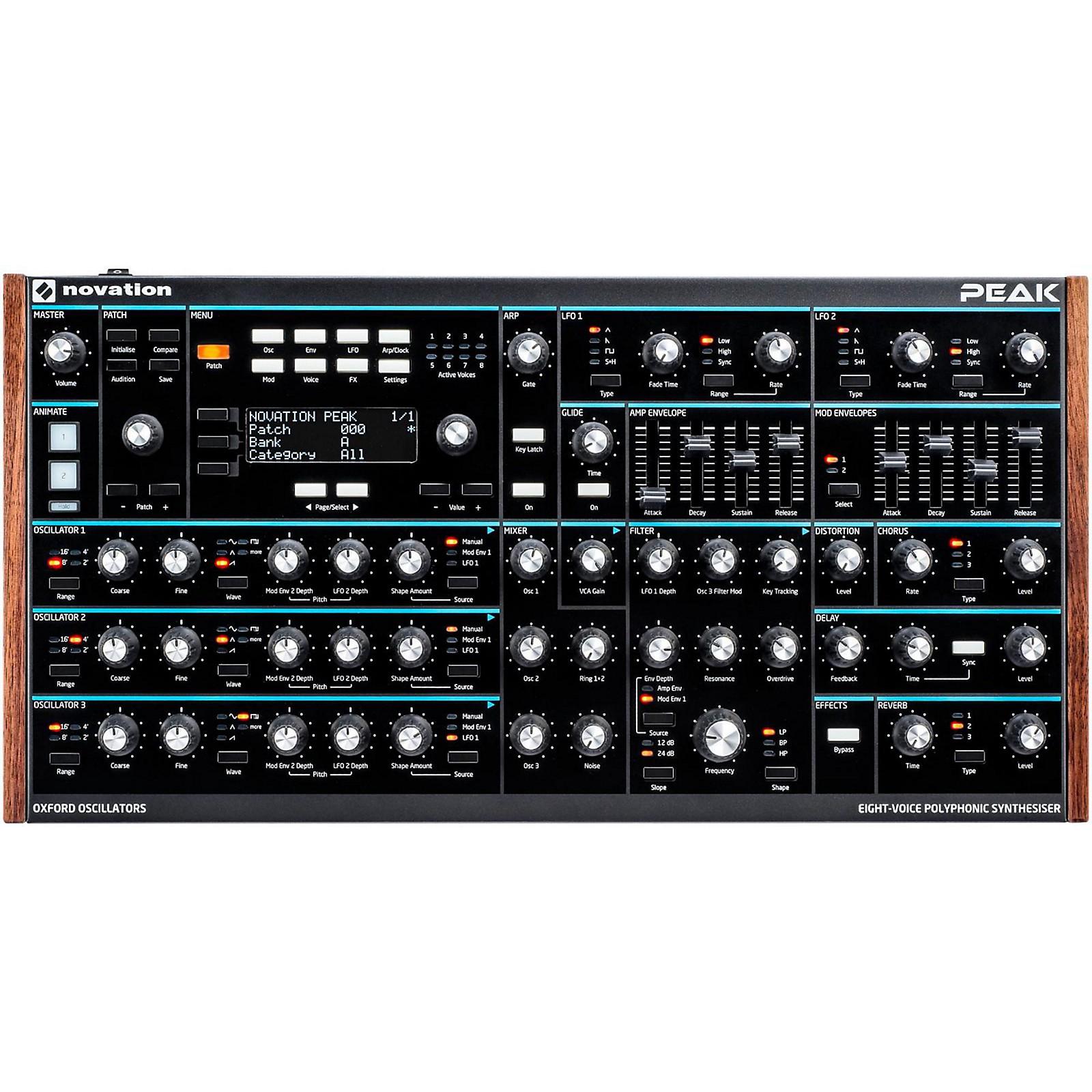 Novation Peak 8-Voice Desktop Synth
