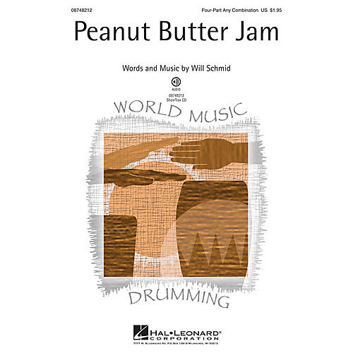 Hal Leonard Peanut Butter Jam ShowTrax CD Composed by Will Schmid