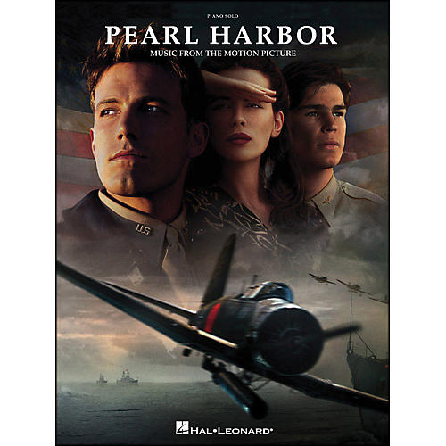 Hal Leonard Pearl Harbor Piano Solo Music From The Motion Picture