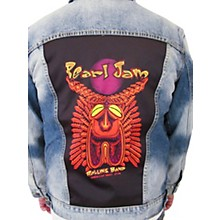 Dragonfly Clothing Pearl Jam - Tiki Torch - Girls Denim Jacket
