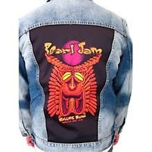 Dragonfly Clothing Pearl Jam - Tiki Torch - Mens Denim Jacket