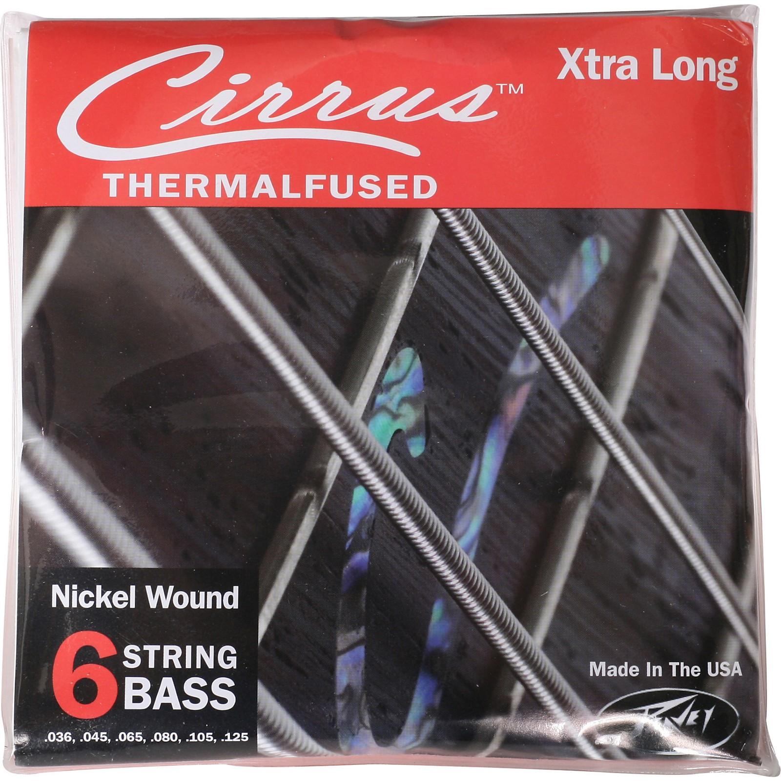 Peavey Peavey Cirrus Nickel-Wound Electric Bass Strings 6XL