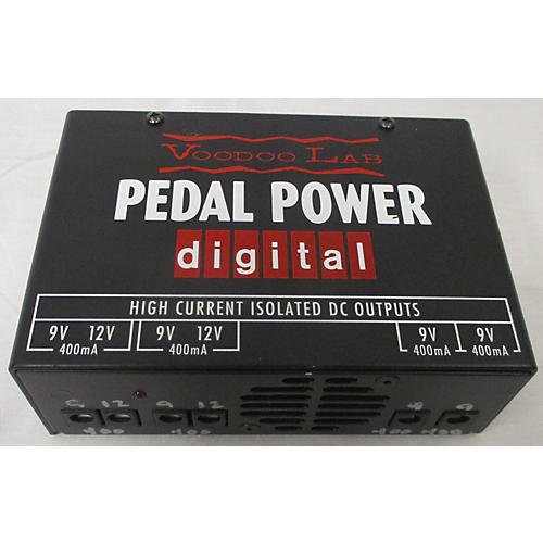 Pedal Power Digital Power Supply