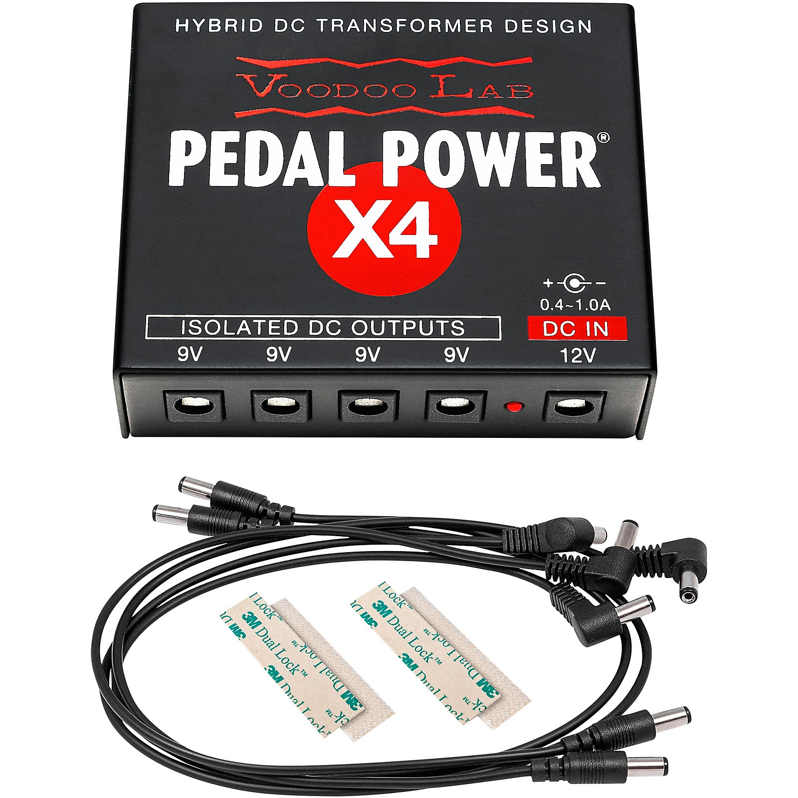 Voodoo Lab Pedal Power X4 Expander Kit