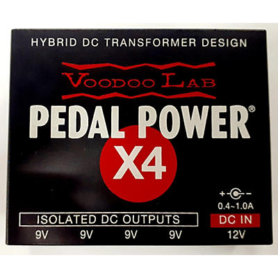 Voodoo Lab Pedal Power X4 Power Conditioner