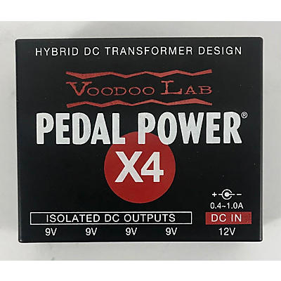Voodoo Lab Pedal Power X4 Power Supply