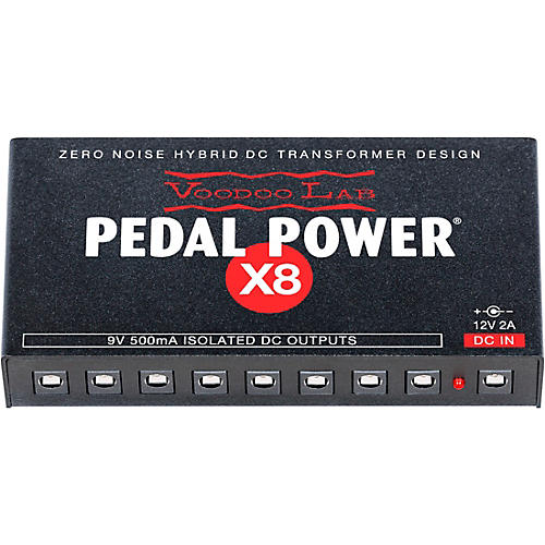 Voodoo Lab Pedal Power X8 Isolated Power Supply