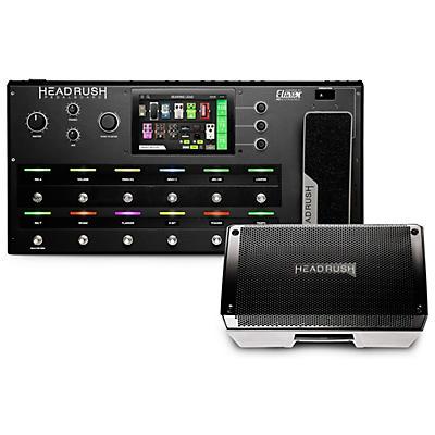 HeadRush Pedalboard Multi-Effects Processor and FRFR-108 2,000W 1x8 Powered Speaker Cabinet