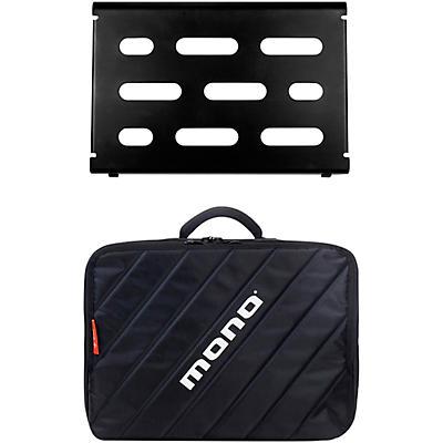 MONO Pedalboard Small, Black and Club Accessory Case 2.0, Black