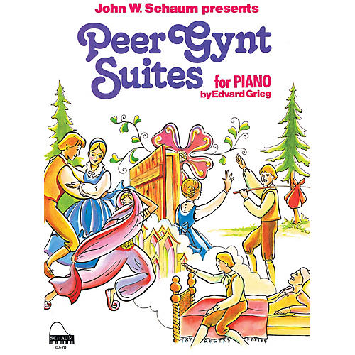 SCHAUM Peer Gynt Suites Educational Piano Series Softcover