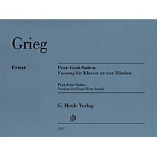 G. Henle Verlag Peer Gynt Suites (Version for Piano Four-Hands) Henle Music Folios Series Softcover