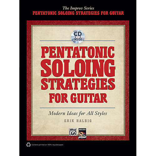 Alfred Pentatonic Soloing Strategies for Guitar Book & CD