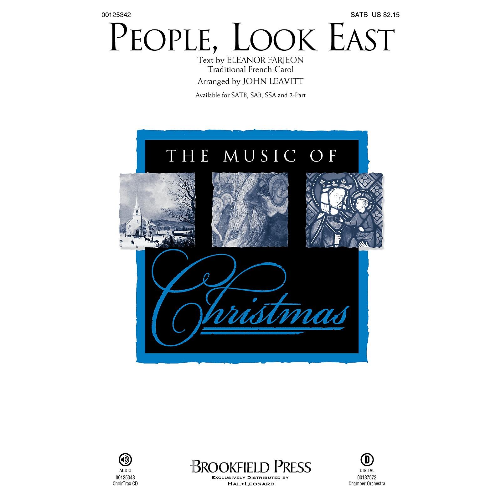 Brookfield People, Look East 2-Part Arranged by John Leavitt