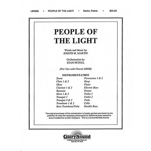 Shawnee Press People of the Light Score & Parts composed by Joseph M. Martin