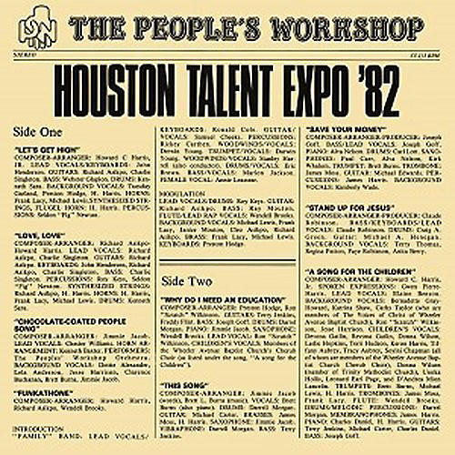 Alliance People's Workshop - Houston Talent Expo '82
