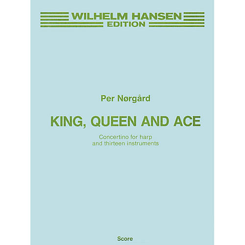 Music Sales Per Norgard: King, Queen And Ace (Full Score) Music Sales America Series