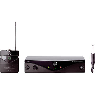 AKG Perception Wireless Instrumental Set Band A with D8000M Handheld Mic