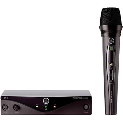 AKG Perception Wireless Vocal Set Band A with D8000M Handheld Mic