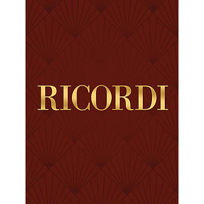 Ricordi Perché son molli RV681 Study Score Series Composed by Antonio Vivaldi Edited by Francesco Degrada