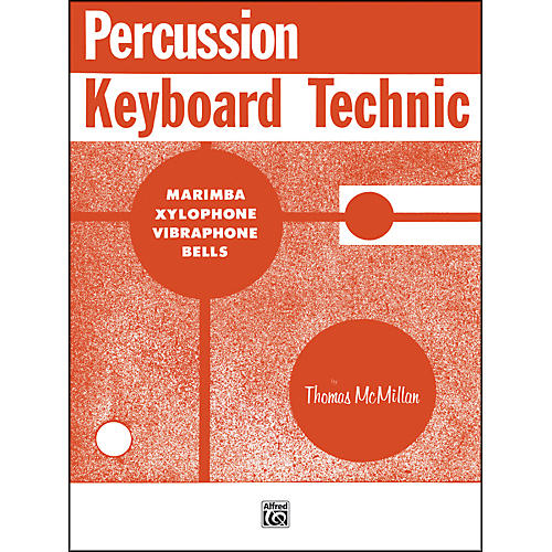 Alfred Percussion Keyboard Technic Book