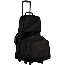 Protec Percussion Kit and Snare Combination Bag with Trolley
