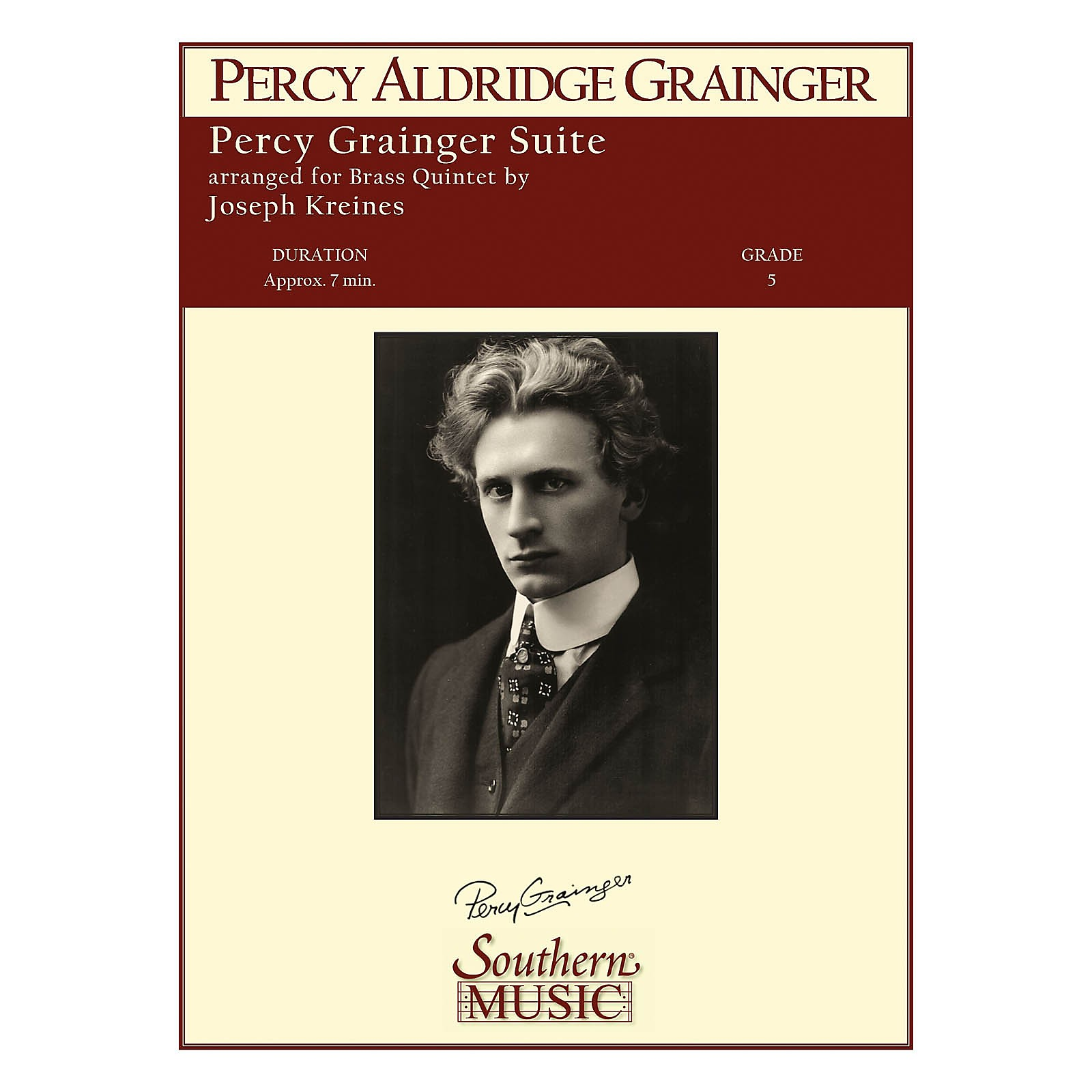 Southern Percy Grainger Suite Southern Music Series by Percy Aldridge Grainger Arranged by Joseph Kreines