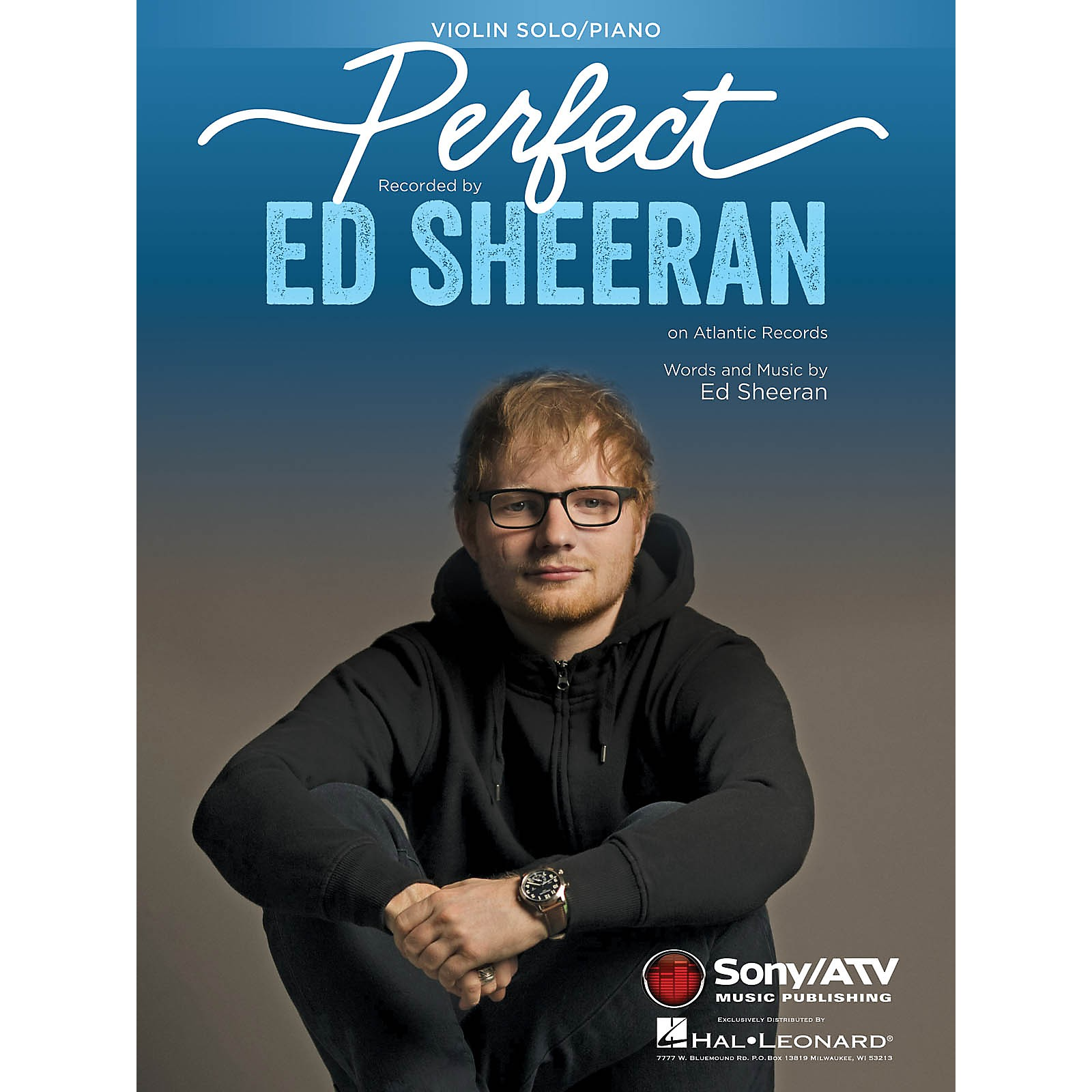 Hal Leonard Perfect Instrumental Solo for Violin Performed by Ed Sheeran