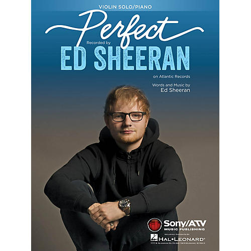 Hal Leonard Perfect Instrumental Solo for Violin Performed by Ed Sheeran