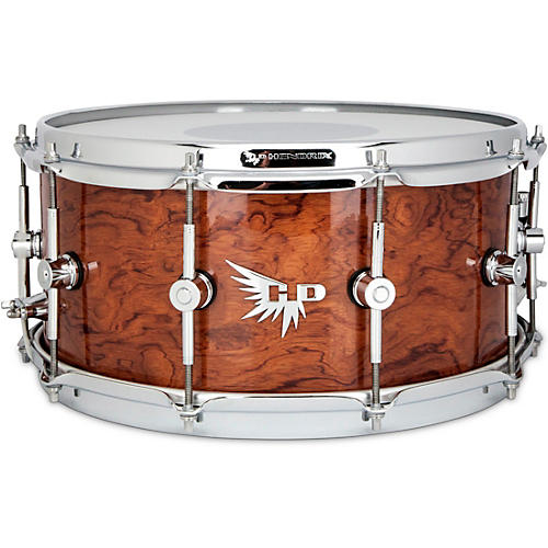 Hendrix Drums Perfect Ply Bubinga Snare Drum 14 x 6.5 in. Bubinga Gloss