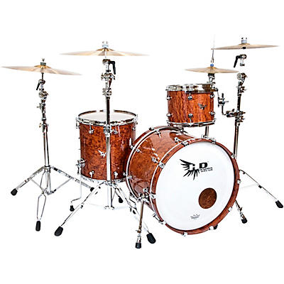 Hendrix Drums Perfect Ply Series Bubinga 3-Piece Shell Pack