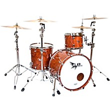 "Hendrix Drums Perfect Ply Series Bubinga 3-Piece Shell Pack with 22x16"" Bass Drum"
