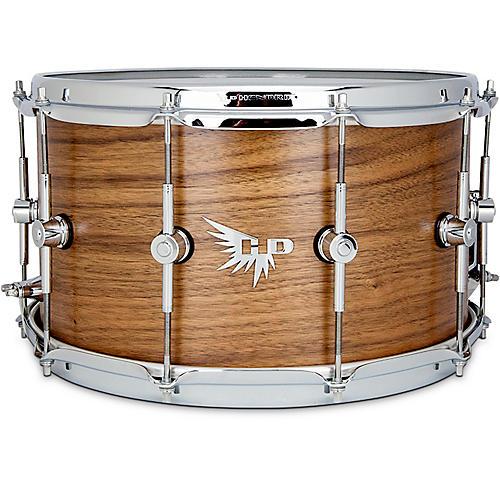 Hendrix Drums Perfect Ply Walnut Snare Drum 14 x 8 in. Walnut Satin