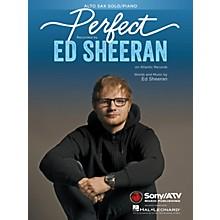 Hal Leonard Perfect for Alto Sax and Piano Instrumental Solo by Ed Sheeran