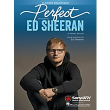 Hal Leonard Perfect for Clarinet and Piano Instrumental Solo by Ed Sheeran
