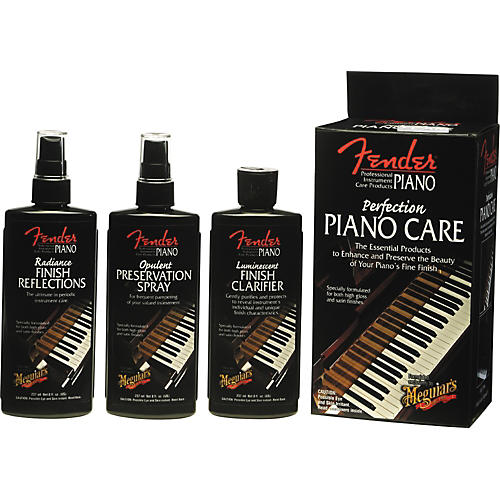 Fender Perfection Piano Care Kit by Meguiar's